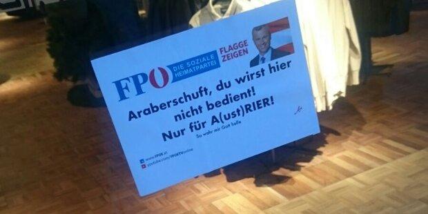FPÖ wütet gegen Schock-Plakate
