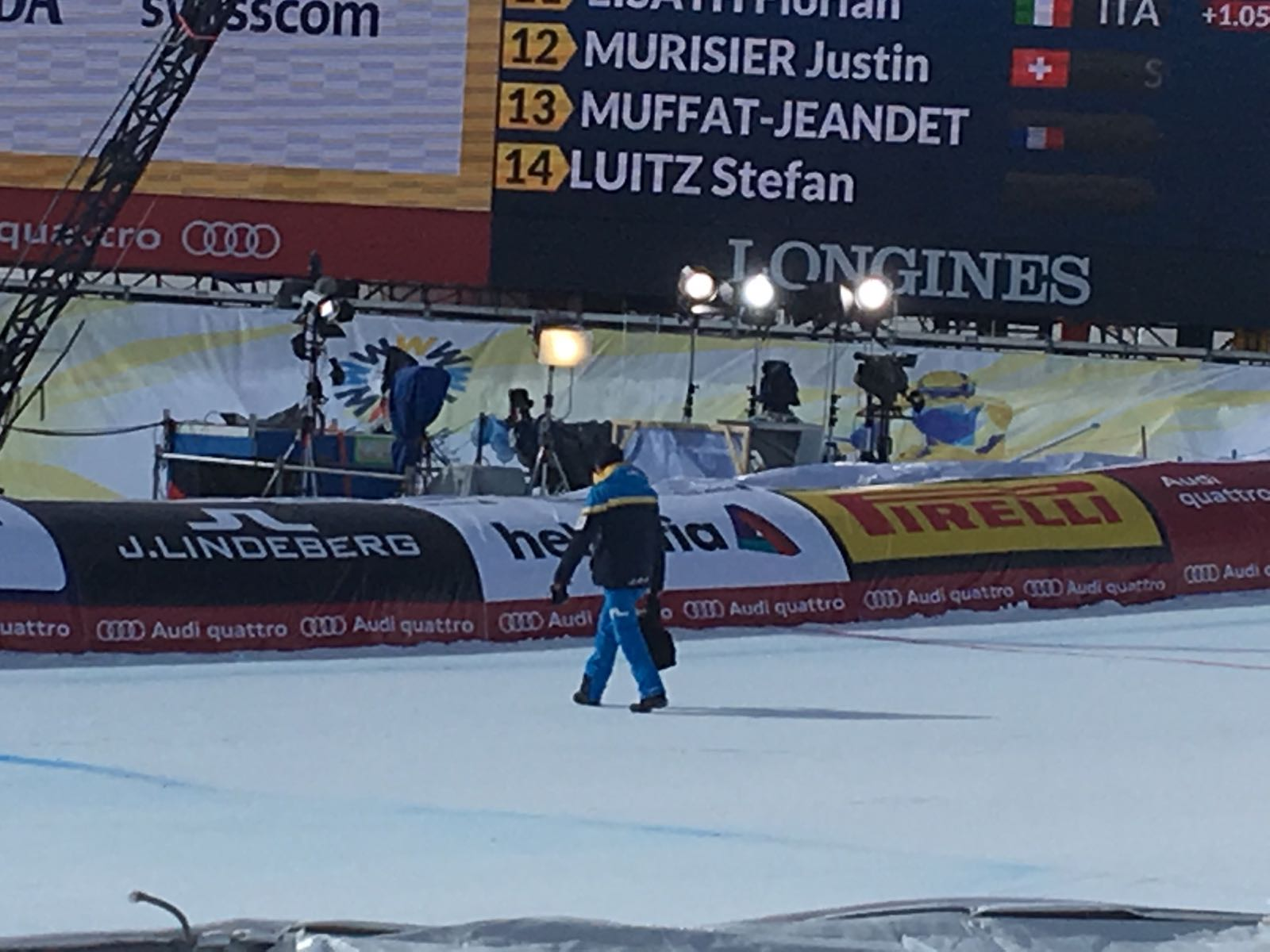 Flieger reißt Seilbahnkamera ab | Ski-WM schrammt an Katastrophe vorbei