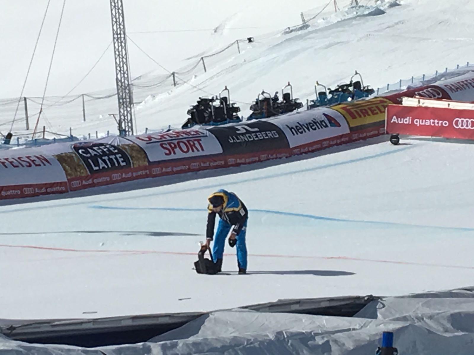 Kamera-Absturz bei der Ski-WM