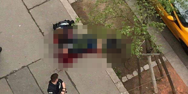 Mord in Wien: Zwei Männer noch auf der Flucht