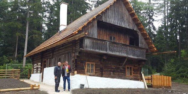 500 Jahre altes Bauernhaus gesiedelt