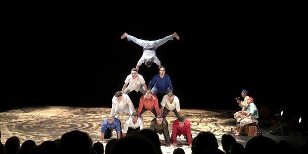 Groupe Acrobatique de Tanger aus Marroko