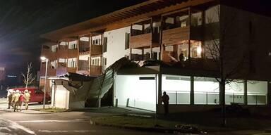 Dach-Sturz Niedernsill
