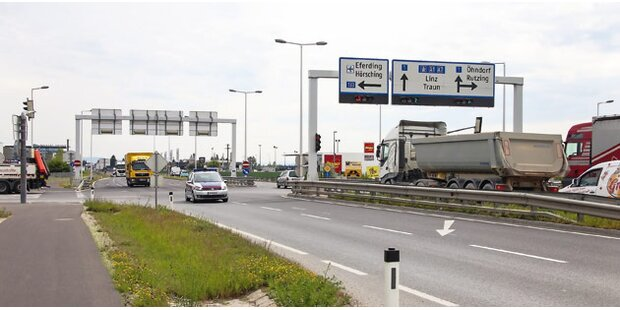 Fahrerstreit: LKW-Lenker ist im Spital
