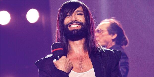 Conchita strahlt bei Best of Austria