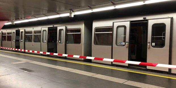 Öffi-Chaos: U-Bahn in Wien entgleist