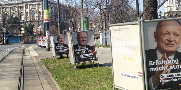 Hofburg: Wahlkampf wird heiß