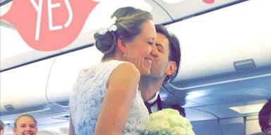 Hochzeit Flieger