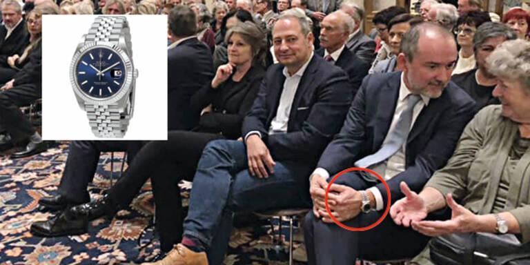 Drozda: Nächste SPÖ-Intrige um Luxus-Uhr