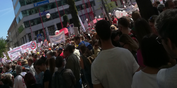 Demo 12-Stunden-Tag