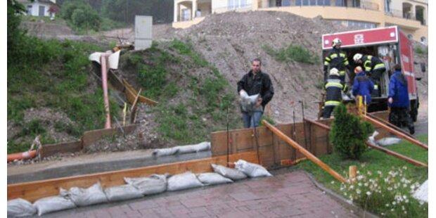Überflutungen in Hermagor