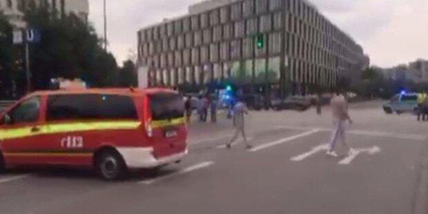 München: Schießereien an mehreren Plätzen