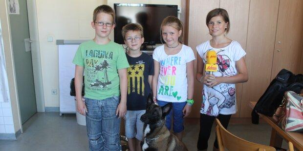 Besuch bei der Polizei-Hundestaffel