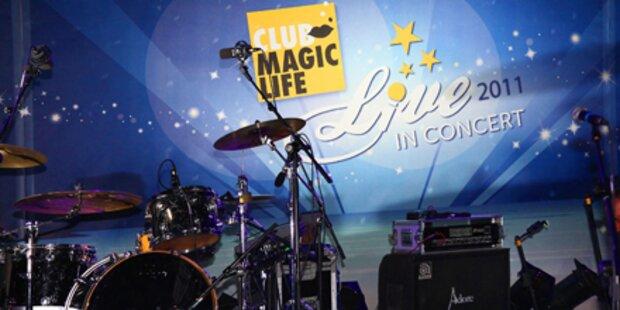 Magic Life bietet jetzt Live-Konzerte