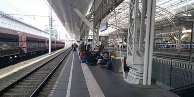 Kopie von Flüchtlinge am Salzburger Hauptbahnhof
