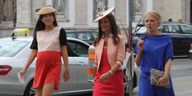 Pippa und Emma Watson bei Hochzeit in Wien