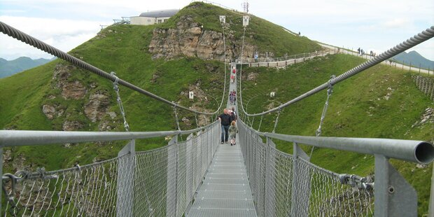 Höchste Hängebrücke im Pongau