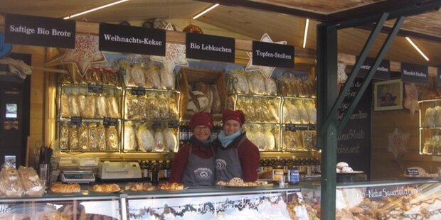 Die Weihnachtsbäcker am Christkindlmarkt
