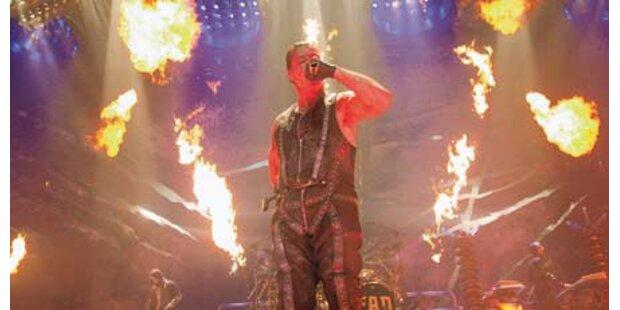 Rammstein: Bombastische Show in Wien