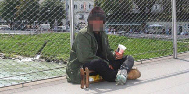 Polizei hebt illegales Bettler-Lager aus