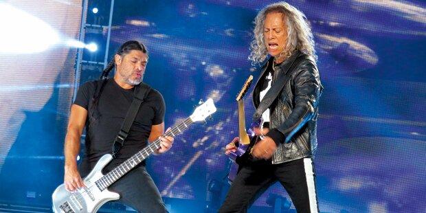 Metallica rocken den Austro-Pop