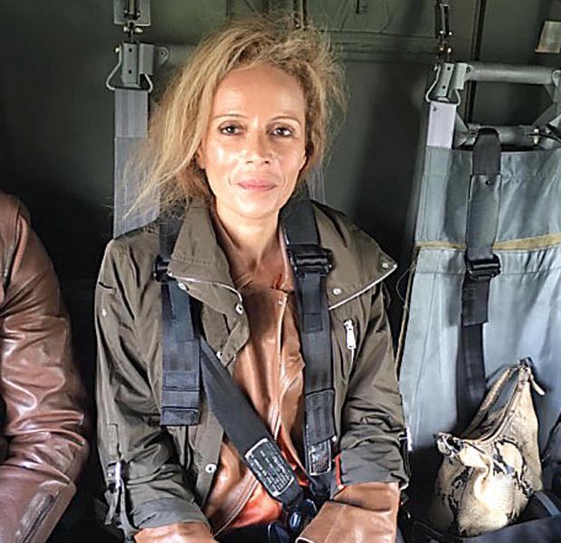 Isabelle Daniel Militärhubschrauber