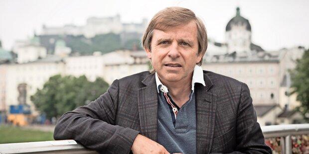 Bekannter Krimi–Autor von Bus gerammt