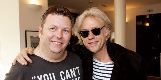 Geldof: So feierte ich 60er in Wien