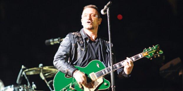 U2: Bono singt endlich wieder