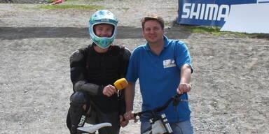 Antenne Reporter bei Mountainbike WM