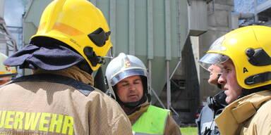 Feuerwehr im Einsatz.
