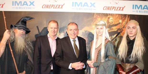 IMAX Eröffnung mit Blockbuster