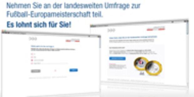 Österreichweite Umfrage Fußball-EM