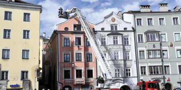 Orkanartiger Föhn wütete in Innsbruck