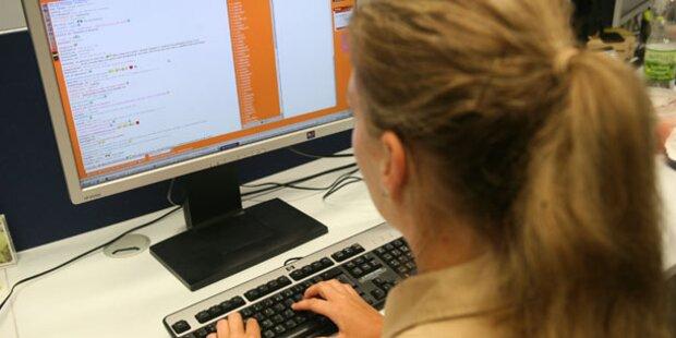 Österreich: 18 % waren noch nie im Internet