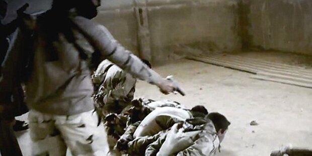 ISIS schockt mit brutaler Massen-Exekution