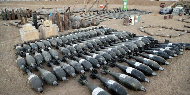 ISIS produzierte mehrere Zehntausend Waffen in Mosul