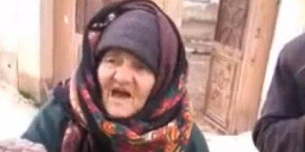 Syrische Oma attackiert IS-Kämpfer