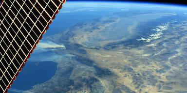ISS Erde Foto