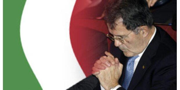 Prodi stellt sich Vertrauensvotum