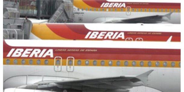 Iberia hat Gewinneinbruch von 90 Prozent