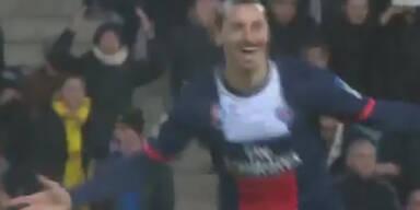 Unglaubliches Traumtor von Ibrahimovic