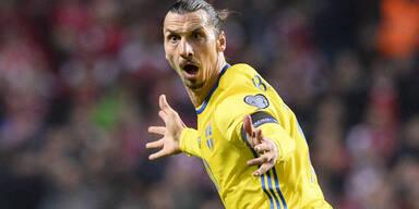 Ibrahimovic ballert Schweden zur EURO