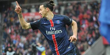 Ibrahimovic-Gala bei PSG-Sieg