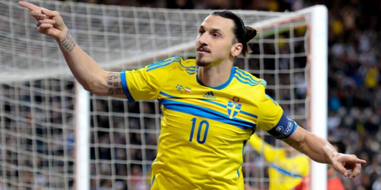Schweden hoffen auf Ibrahimovic