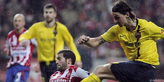 Barcelona erhofft Ende von Ibrahimovics Torflaute