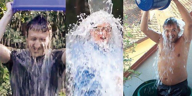 Ice Challenge: Kalte Dusche oder Spende