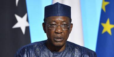 Präsident des Tschad bei Kämpfen gegen Rebellen gestorben
