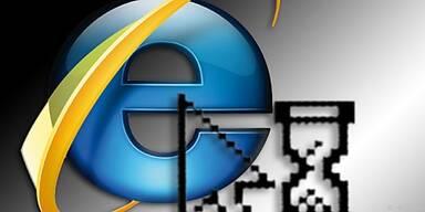 Im Moment den Internet Explorer nicht verwenden