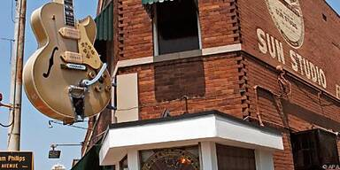 Im 'Sun Studio' in Memphis begann Elivs' Karriere